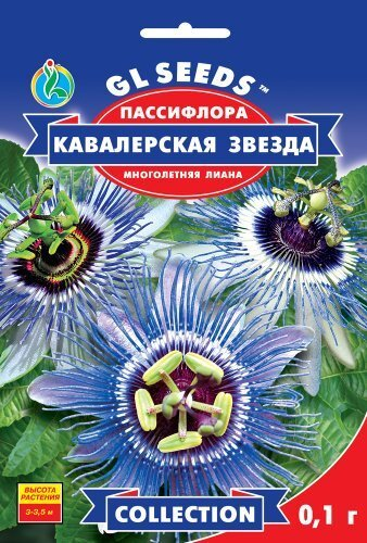 Семена Пассифлоры Кавалерская звезда (0.1г), Collection, TM GL Seeds