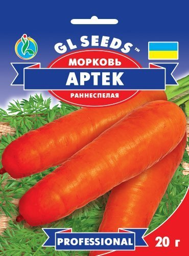 Семена Моркови Артек (20г), Professional, TM GL Seeds