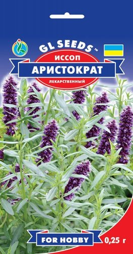 Семена Иссопа Аристократ (0.25г), For Hobby, TM GL Seeds