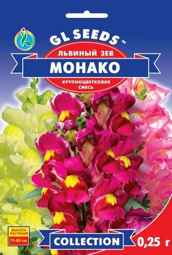 Семена Львиного зева Монако (0.25г), Collection, TM GL Seeds
