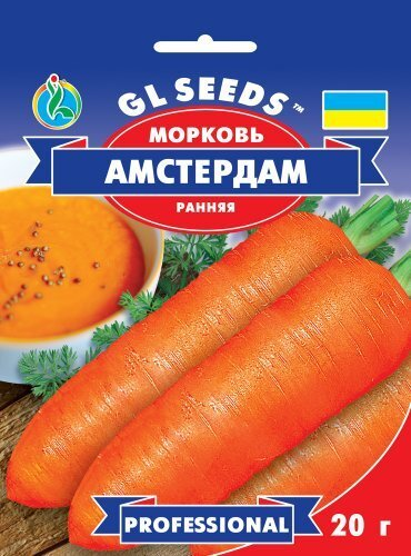 Семена Моркови Амстердам (20г), Professional, TM GL Seeds